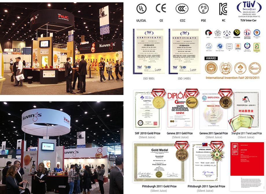 さまざまな受賞経験のある世界トップ企業!